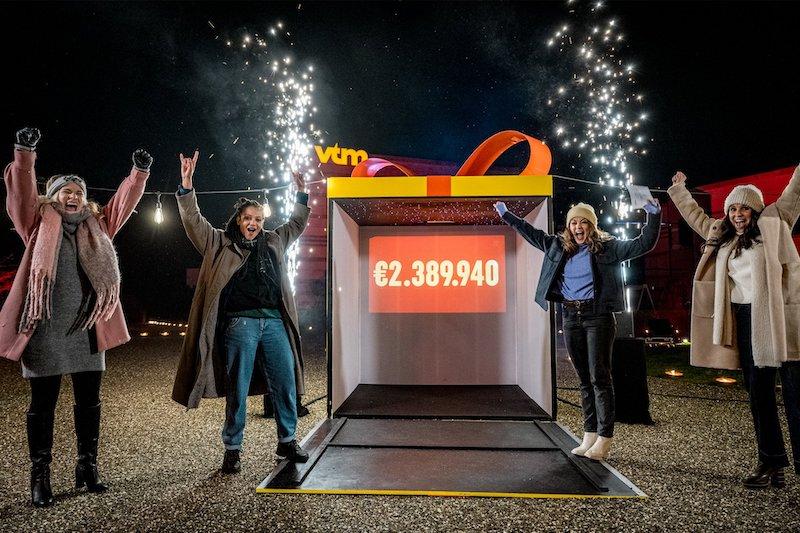 Make 2020 Great Again groot succes : 2.389.940 euro aan kerstcadeau's voor kansarme kinderen